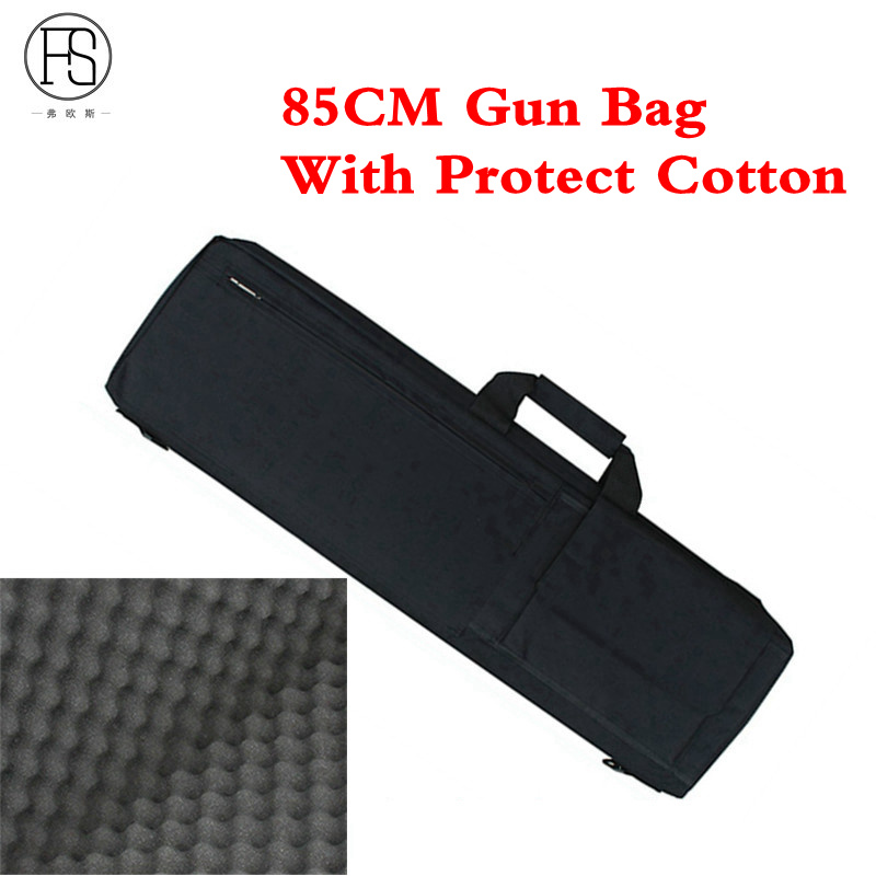 Tactical Equipment 85CM Gun Bag Shotgun Case Air Rifle Case Cover Sleeve Shoulder Pouch Hunting Carry Bags With Protect Cotton tourbon tactical rifle gun sling with swivels shotgun carrying shoulder strap black genuine leather belt length adjustable