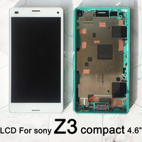 4.6Replacement for Sony Xperia Z3 Compact lcd D5803 D5833 Touch Screen Display Digitizer Assembly For Sony Z3 Compact mini lcd