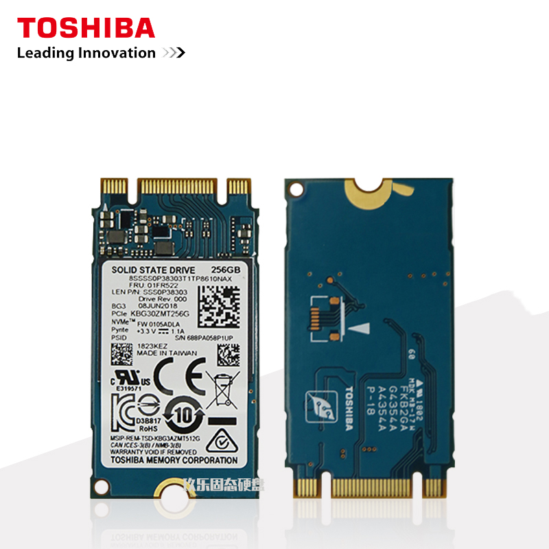 Toshiba NVMe 240GB M.2 2242 Solid State Drive Disk Internal for Laptop Desktop <font><b>Ssd</b></font> <font><b>240</b></font> <font><b>Gb</b></font> Laptop Hard Drive M.2 Msata <font><b>Ssd</b></font> image