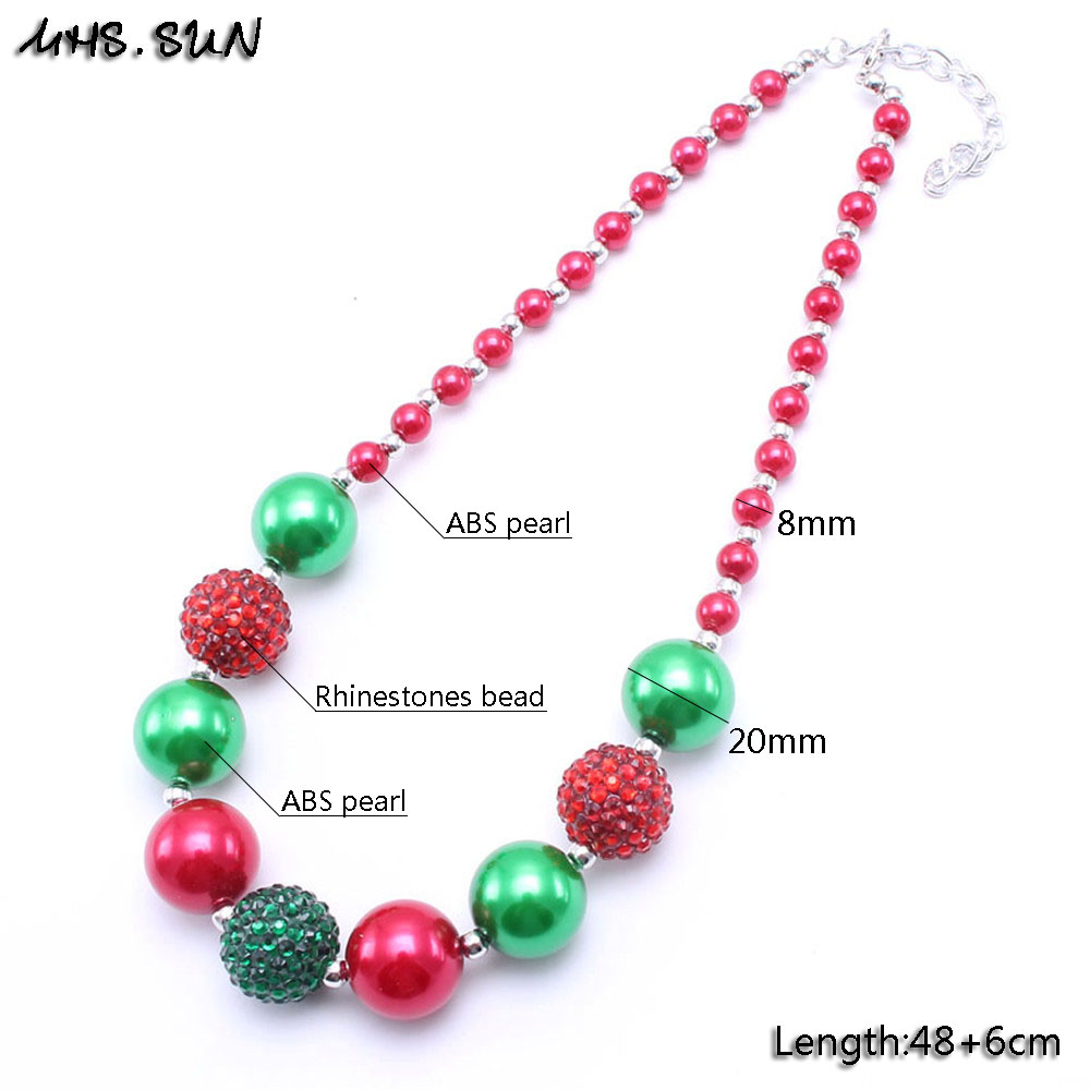children necklace bubblegum for pink toddler store mhs girls sun product bead color silver kid jewelry fashion hot beautiful chunky design