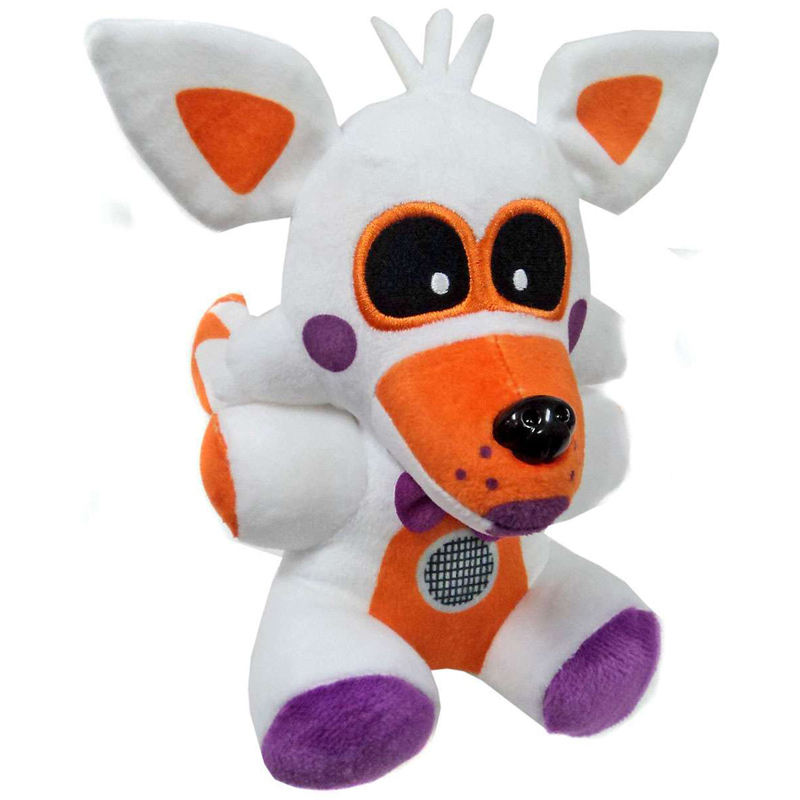 20cm FNAF Five Nights At Freddy's Sister Location Funtime Fox Foxy Plush Toys Soft Stuffed Animals Toys Doll Gifts For Children