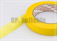 10x 50mm 50M 3M244 Yellow Masking Tape For PCB SMD Soldering Coating Shielding