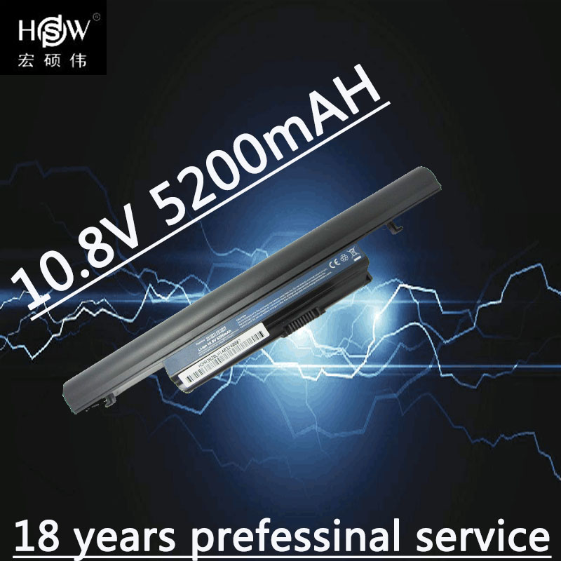 HSW 6cells New Laptop Battery For ACER  Aspire 5745 5745DG 5745G 5745P 5820 5820G 5820T 7745 7745G 7745Z AS3820 AS5745 Battery