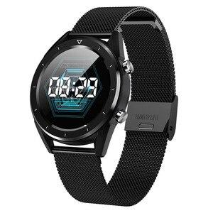Image 2 - Letine DT28 ECG Monitor De Freqüência Cardíaca Relógio Inteligente de Pagamento Móvel Múltiplos Modos de Esportes de Fitness Rastreador Smartwatch Tela Sensível Ao Toque Completa