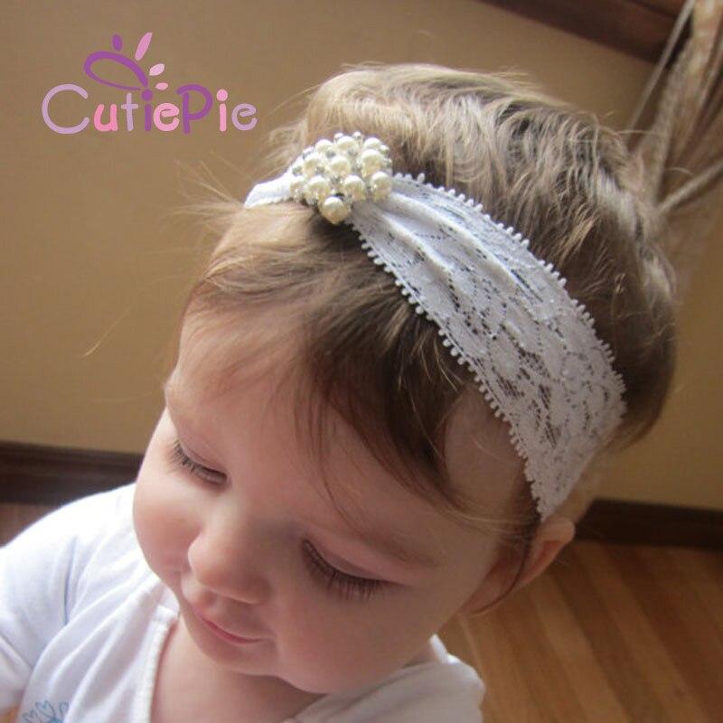 Kids Princess Lace Rhinestone Headband Christening Headband Baptism Headband  Kids DIY Crafts Hair Accessories bd5e4ad769f
