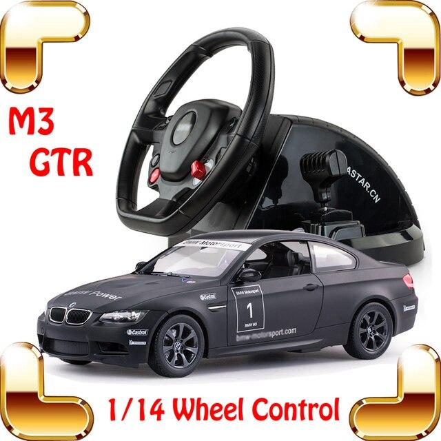 Новый Год Подарок 1/14 M3 GTR RC Колеса Автомобиля Нужно для Скоростной Гоночный Автомобиль Игра Родстер Most Wanted Drift Игрушки Коллекция настоящее