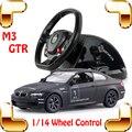 Nuevo Regalo de Año 1/14 M3 GTR RC Control de la Rueda de Coche Necesita Juego de Coches de Carreras de Velocidad Roadster Más Buscados Deriva Juguetes de Colección presente