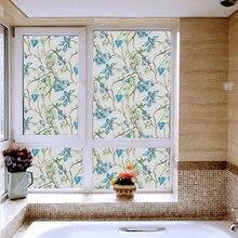 Non-glue multicolor translucent sticker sunscreen antistatic scrub glass window sticker bathroom sliding door protective film цена в Москве и Питере