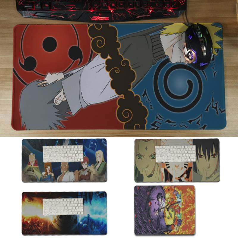 Yinuoda 2018 New Naruto Sasuke and UchihaMadara Laptop Computer Mousepad Size 180*220 200*250 250*290 300*600 and 300*600*2mm
