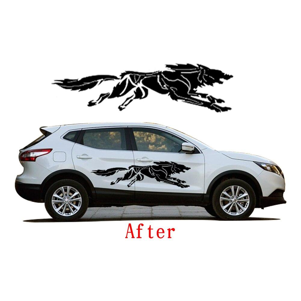 Novo za Nissan Qashqai stajling automobila zavijanje Wolf kreativne - Vanjska auto oprema - Foto 5