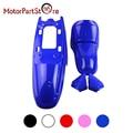Corpo plástico fender capa shell parts kit para yamaha pw50 py50 PW PY 50 PEEWEE Mini Dirt Pit Bike Crianças Motocross Motocicleta