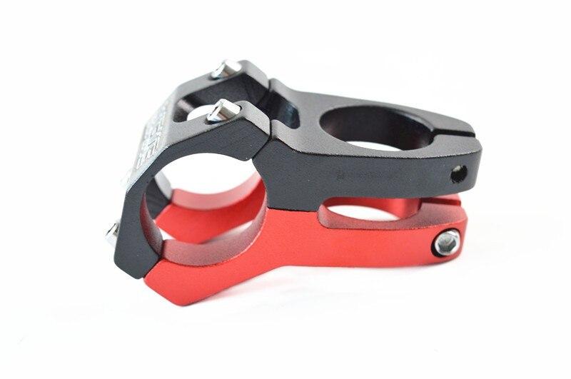 купить Free shipping Aluminium Alloy CNC Mountain/Road Cycling Stem MTB Bike Bicycle Handlebar Stem 31.8/28.6/45MM 4 color онлайн