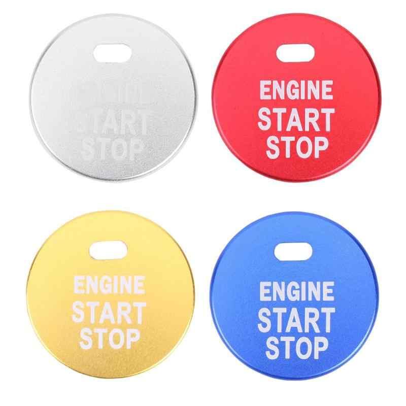 אלומיניום סגסוגת מנוע Start Stop לחצן הצתה מפתח כיסוי Trim מדבקה לסובארו BRZ אימפרזה XV פורסטר אאוטבק Legacy אוטומטי אני