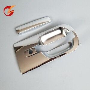 Image 4 - Utilizzare per hyundai h1 grand starex i800 anteriore porta posteriore maniglia esterna della porta bicromato di potassio della copertura