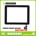 Original NEW 8 inch Touch screen QSD 8007-03 for Digma iDsD8 3G touch screen panel digitizer black and white stock