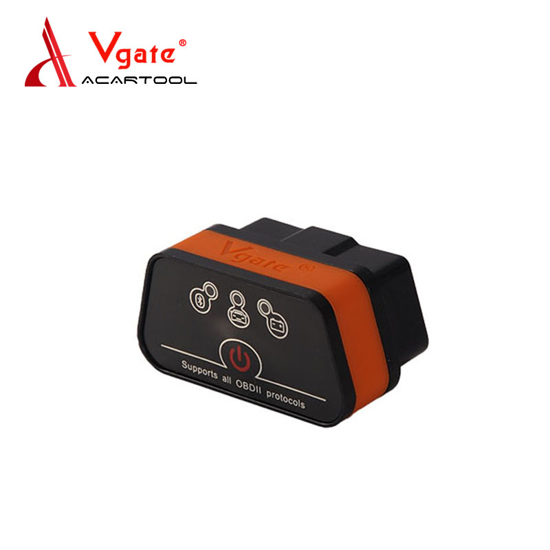 2018 Vgate iCar2 Bluetooth Code Reader With 6 Colors Available For Android ELM327 Bluetooth Auto OBDII Vgate iCar 2 Bluetooth