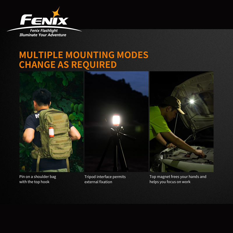 Image 3 - New Arrival Fenix CL26R High performance Micro USB Rechargeable Camping Lantern with Free 18650 Li on Battery-in Portable Lanterns from Lights & Lighting