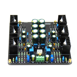Image 2 - XD JLH Dual Channel Single Ended 1969 Class A AMP HiFi Preamplifier Board