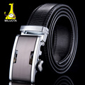 [MILUOTA]  New mens belts luxury high quality genuine leather belts for men automatic buckle brand belt ceinture homme WN006