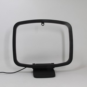 Image 1 - 2 pin FM Loop Antenna with mini connector for radio audio receiver systems