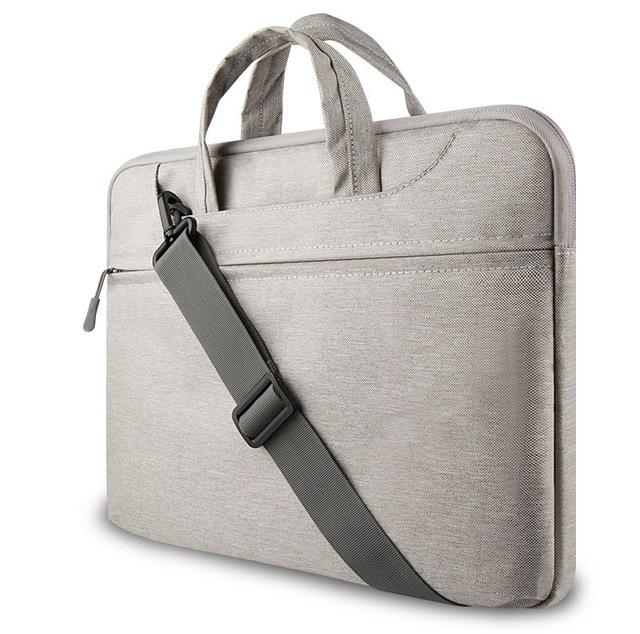 Barato sentiu laptop sleeve para macbook air/pro/retina caso escudo protetor à prova d' água saco notebook 11 13 14 15 polegadas computa 13.3