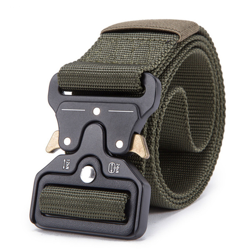 Drop Shipping New   Belt   Male Tactical military Canvas   Belt   Outdoor Tactical   Belt   men's Military Nylon   Belts   Army ceinture hom
