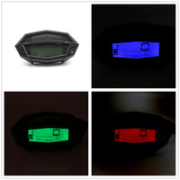 Multi Function Motorcycle Electronic Tachometer Meter Adjustable Color changing LCD Odometer For Kawasaki Z1000 Modification