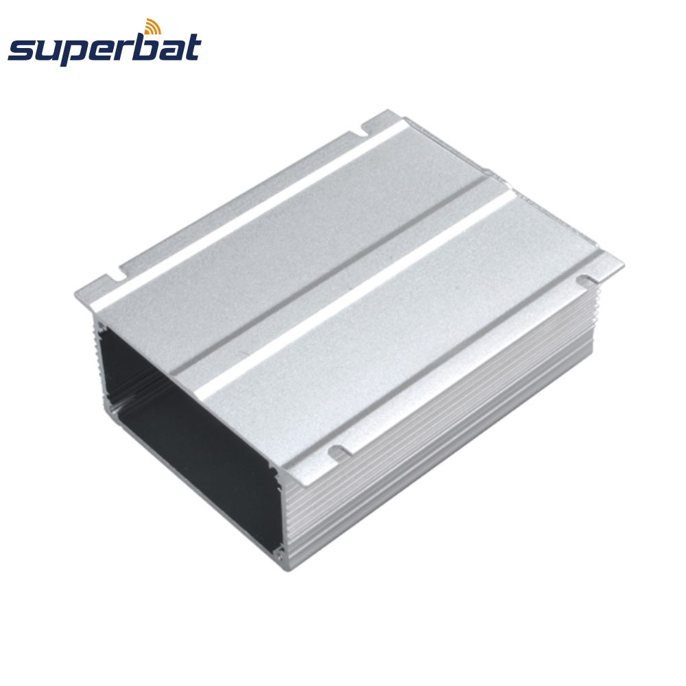 110mm*74mm*38mm Silver Extruded Aluminum Enclosure Electronic Project Box Case for Instrument PCB Amplifier4.33″*2.91″*1.50″ NEW