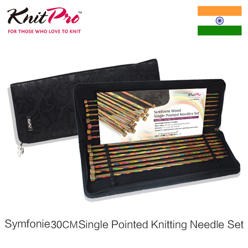Single Point Knitting Needles Set KnitPro Royale Set Straight