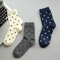New Autumn And Winter Men Socks Fashion Leisure Stars Cotton Socks In Tube Socks Free Shipping