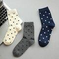 Nuevo Otoño E Invierno de Los Hombres Calcetines de Ocio de Moda Estrellas de Algodón En Calcetines Envío Libre