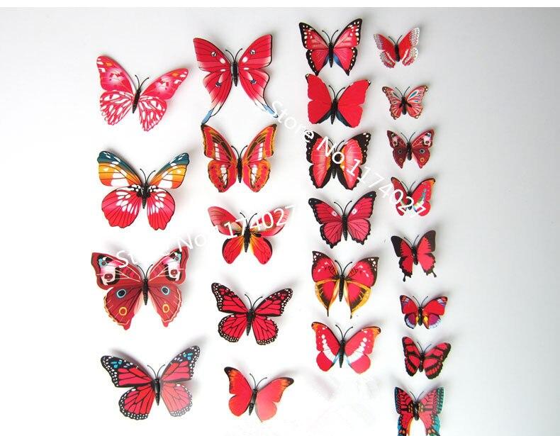 Décoration Papillon Miroir Ensemble 3 pièces argent champagne rétro mur Sunburst