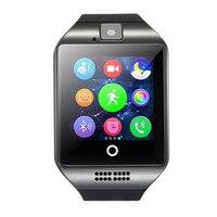 ספורט תחת כיפת השמיים התראת ש מד צעדים שעון חכם טלפון נייד כרטיס TF תמיכת מצלמה טלפון Bluetooth smart Watch עבור אנדרואיד IOS