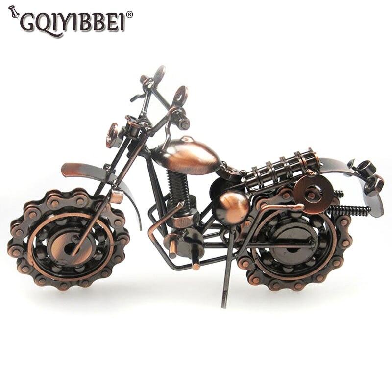GQIYIBBEI Handlödning Motorcykelmodell Metal Moto Collection - Heminredning