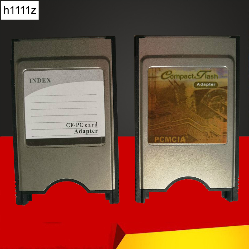 Compact Flash CF To PC Card PCMCIA Adapter Cards Reader For Laptop Notebook #R179T#Drop Shipping