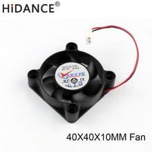 1 PC 5 V 0.14A 40 MM 4 CM 40*40*10mm 4010 DC CPU Bürstenlosen Kühlung kühler USB last tester Belüftung Fan