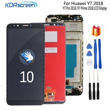 Original For Huawei Y7 2018 Pro Prime LCD Display Touch Screen Digitizer Assembly Replacement With Frame