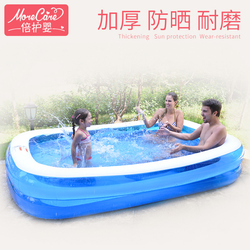 ECO-friendly PVC Children's Pool Inflatable Family Baby Adult Home Pool Ocean Ball Pool