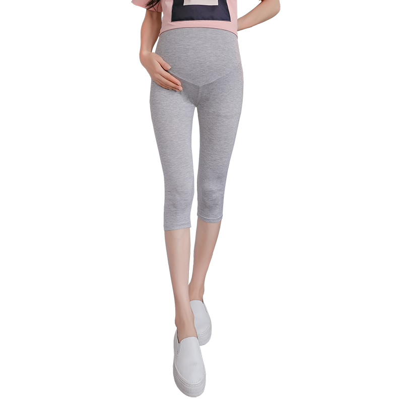2019 Legging For Pregnant Women summer Maternity pants Clothes Thin Pregnancy Trousers Maternity Clothing Skinny Seven pants