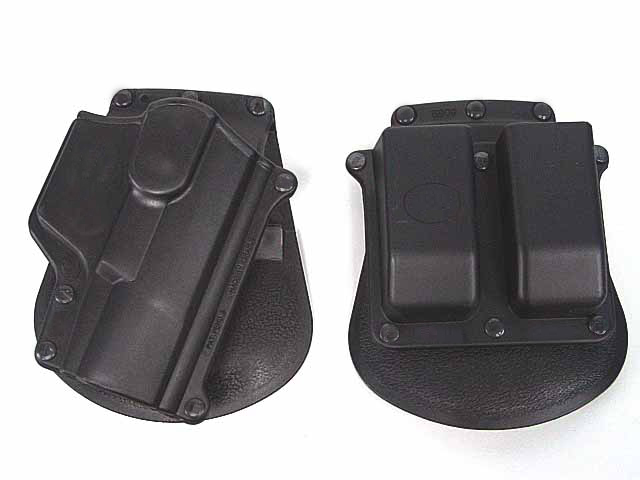 전술 Walther P99 WA99 RH 권총 & 잡지 패들 홀더
