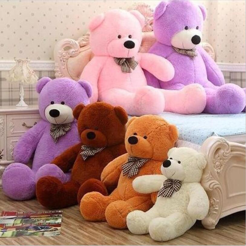 High quality Low price Plush toys large size1m / teddy bear 1m/big embrace bear doll /lovers/christmas gifts birthday gift 1pcs large size 120cm teddy bear plush toys bear 4 colors high quality kisd toys bear doll lovers christmas gifts birthday gift