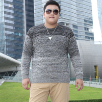 2017 Winter Mens Plus Size Sweaters O Neck Patchwork Casual Knitted Brand Clothing For Man S