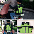Reflect Kids Children's Motorcycle Back hold Vest Safety Belt Adjustable Electric Riding Vehicle Safe Strap Carrier Harness