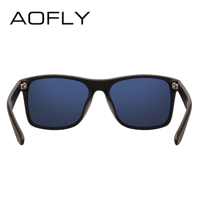 AOFLY BRAND DESIGN Night Vision Glasses Polarized Sunglasses Men Yellow Anti Glare Vintage Driving Sun Glasses Goggles UV400  3