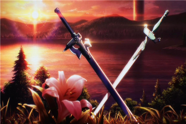 Custom Canvas Art Sword Art Poster Sword Art Online Game Wall Stickers SAO Mural Anime Wallpaper Christmas Bedroom Decor #408#
