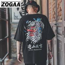 Hip Hop T Shirt Men Japan Devil T-shirt Harajuku Tshirt Streetwear Casual Short Sleeve Summer Tops 2019 Cool Black T Shirt Boys недорого