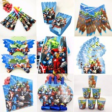 Superhero Avengers Birthday Party supplies and Decorations Kids Favors Disposable Tableware Tablecloth Cups Plates Banner Boy men sandals split leather men beach sandals brand men casual shoes flip flops men slippers sneakers summer leather shoes