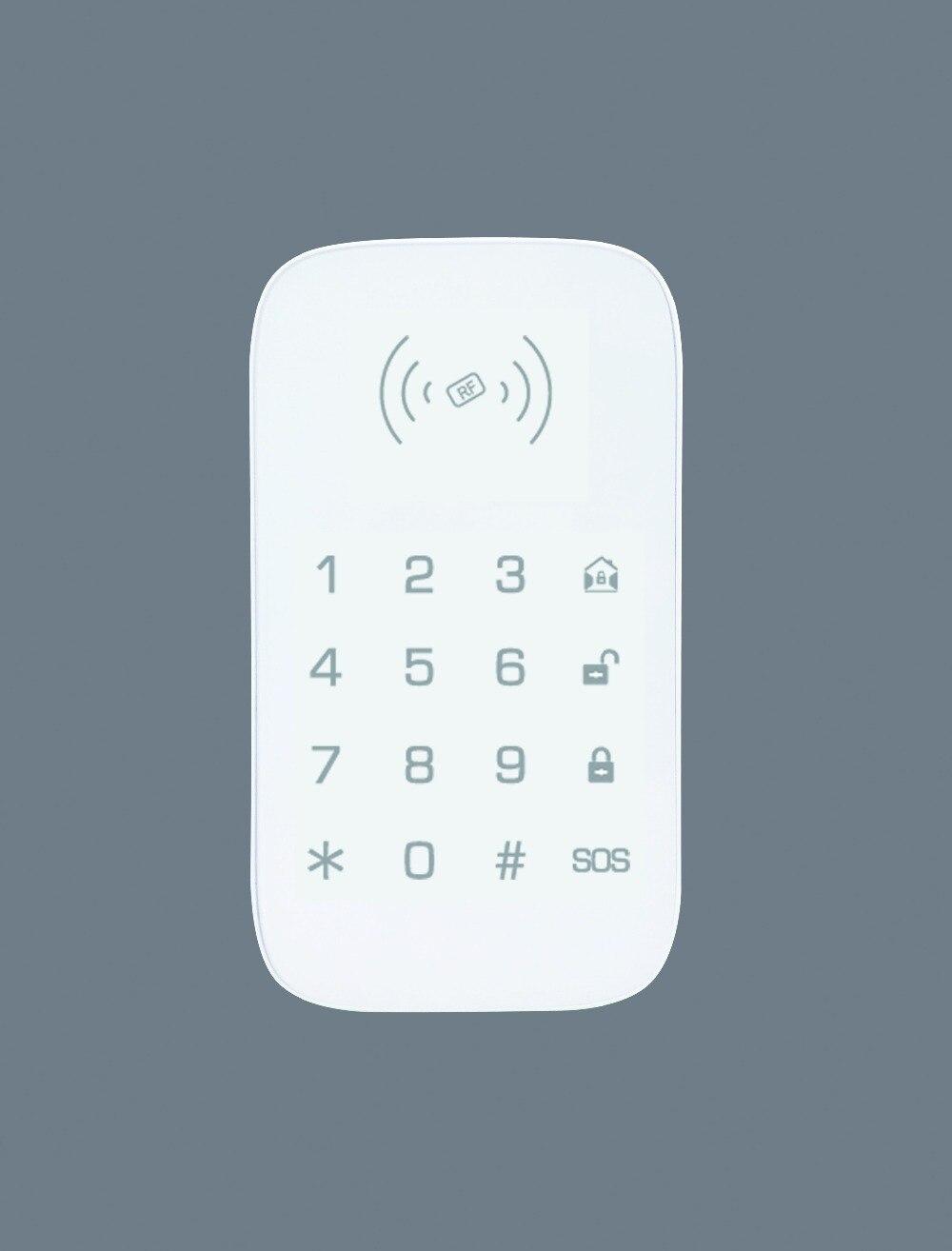 tela sensivel ao toque teclado rfid teclado 01