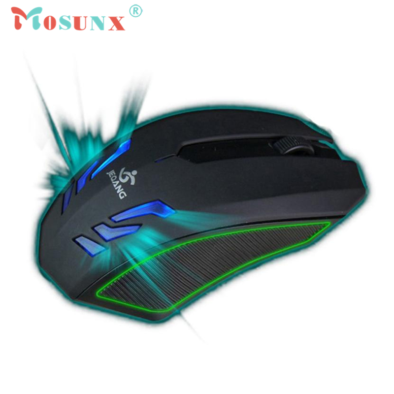 Wired Optical USB Gaming Mouse 3200DPI 3 Buttonsl Mice Mices OW LOL WCG For PC Laptop Desktop Rato 17July12