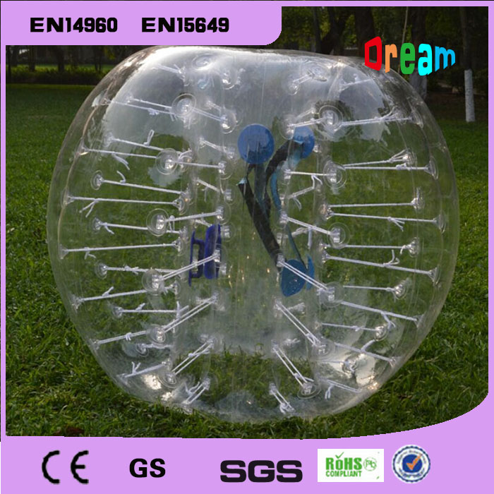 Free Shipping Inflatable Human Bumper Bubble Soccer Ball Toys 1 5m PVC Loopy Ball For Outdoor